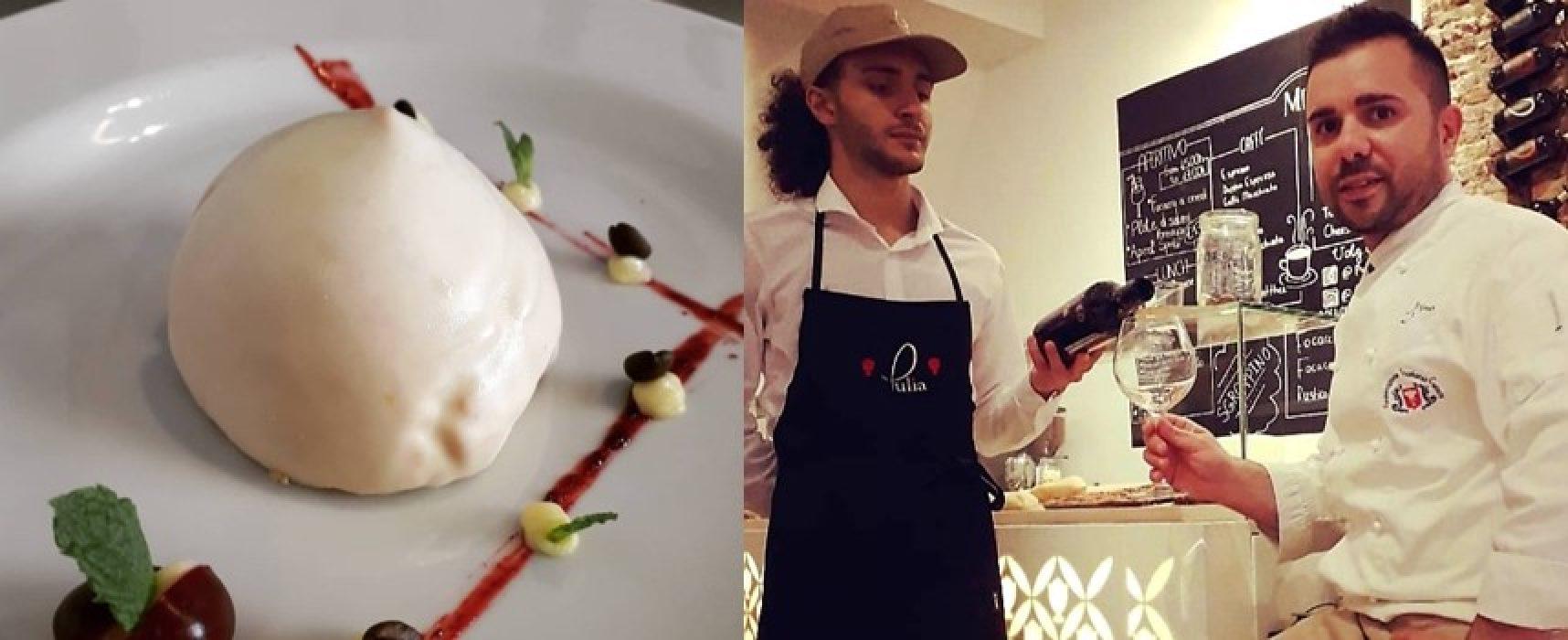Il sospiro biscegliese sbarca in Olanda grazie allo chef Natale Antonino