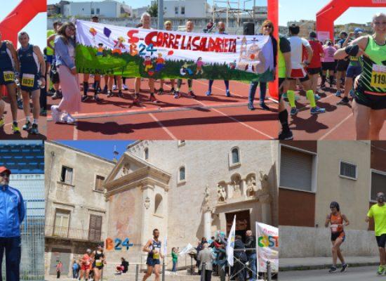 Maratona delle Cattedrali, running, benessere e solidarietà colorano Bisceglie / FOTO