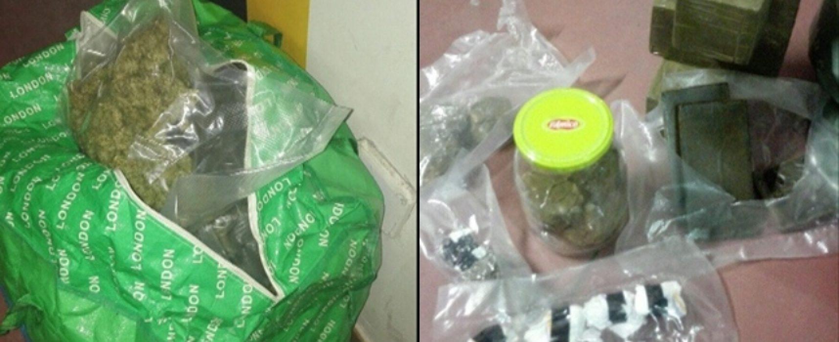 "Operazione ""Black Friday"", arrestati 4 biscegliesi per armi e droga / VIDEO"