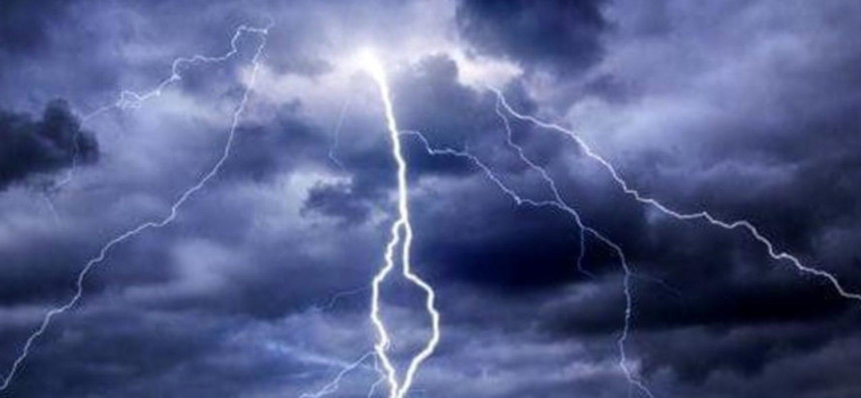 Allerta meteo per temporali nella giornata di domani