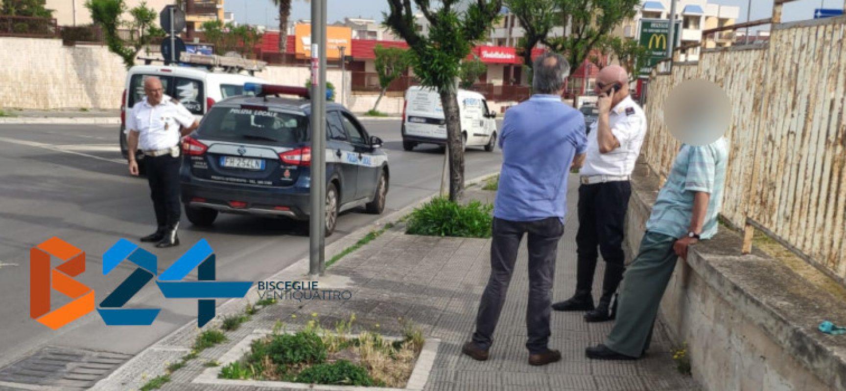 Anziano non trova via di casa interviene la Polizia Locale