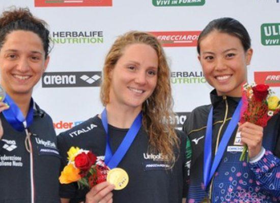 Trofeo Settecolli, Elena Di Liddo seconda nei 100 farfalla