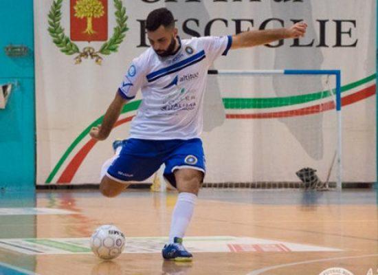 Futsal Bisceglie, rinnova Giacomo Ferrucci