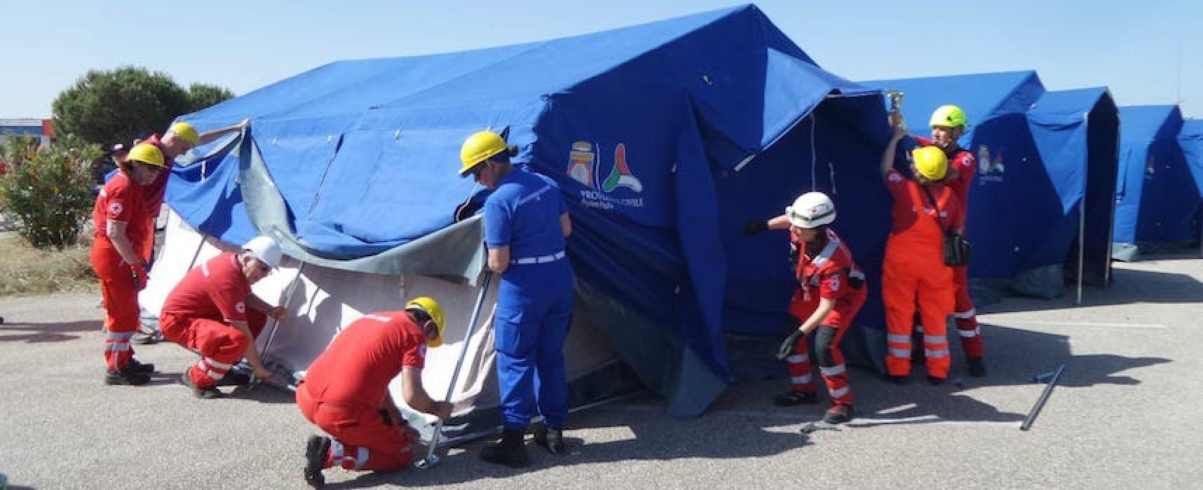 Anche Bisceglie al Raduno Nazionale del Volontariato di Protezione Civile / FOTO