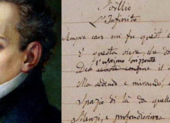 """Fabulanova celebra il bicentenario della poesia """"L'infinito"""""""