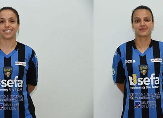 Buzignani-Pereira, doppio rinnovo per il Bisceglie Femminile