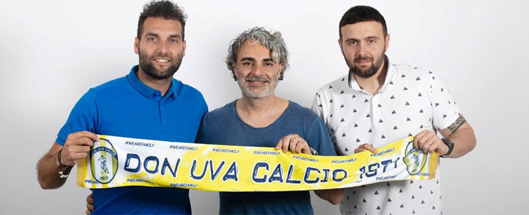 """Don Uva, mister Capurso : """"Soddisfatto del lavoro svolto finora"""""""