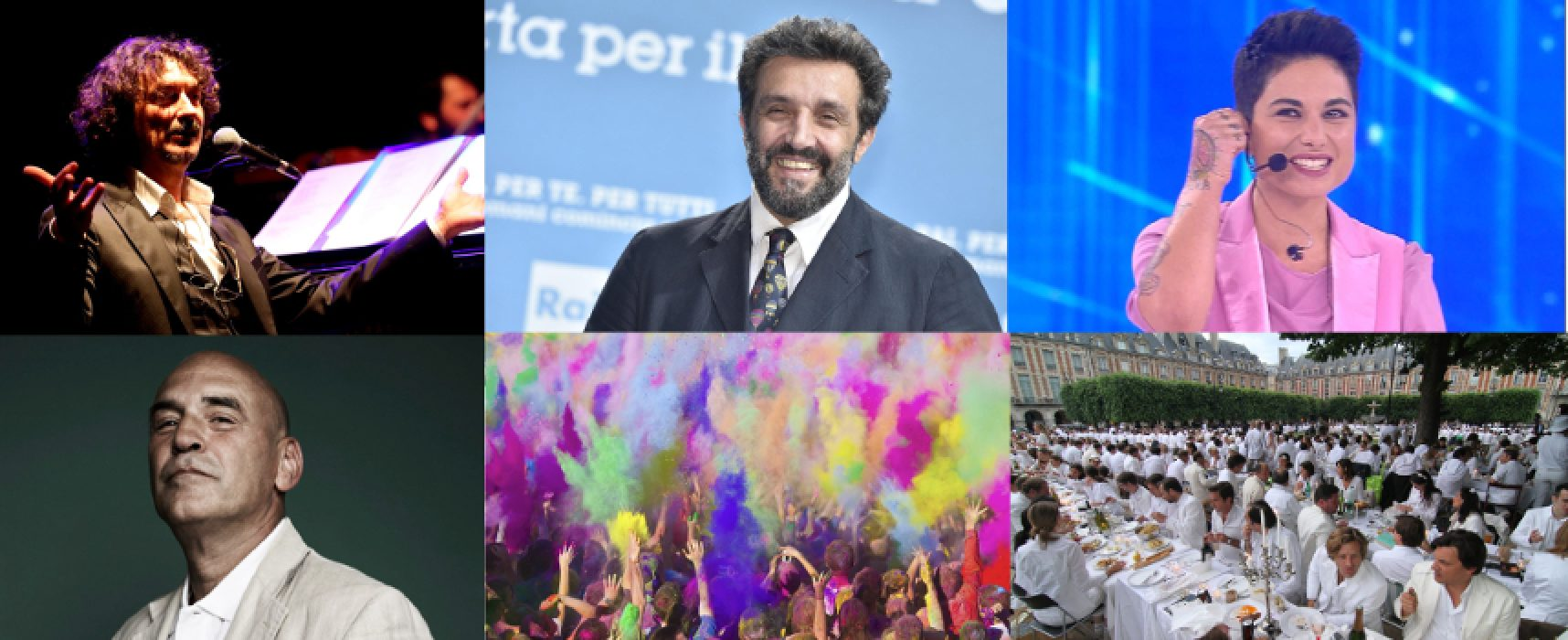 Insinna, Giordana, Cammariere, street food, arti e jazz nell'Estate Biscegliese 2019 / FOTO
