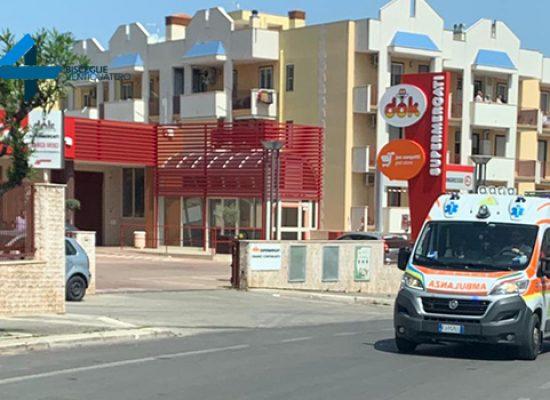 Donna investita in via Salvemini, trasportata in ospedale in codice rosso