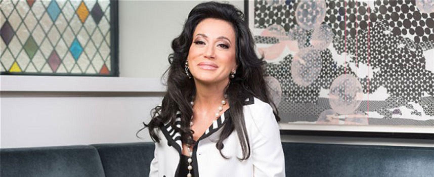 La biscegliese Nancy Dell'Olio nominata ambasciatrice della Puglia nel mondo