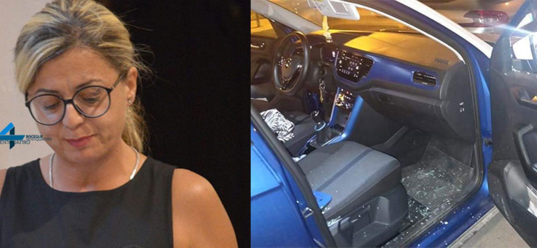 Termina consiglio comunale e trova auto danneggiata, spiacevole sorpresa per Giorgia Preziosa