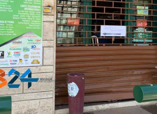 Tentato furto alla tabaccheria di Corso Garibaldi