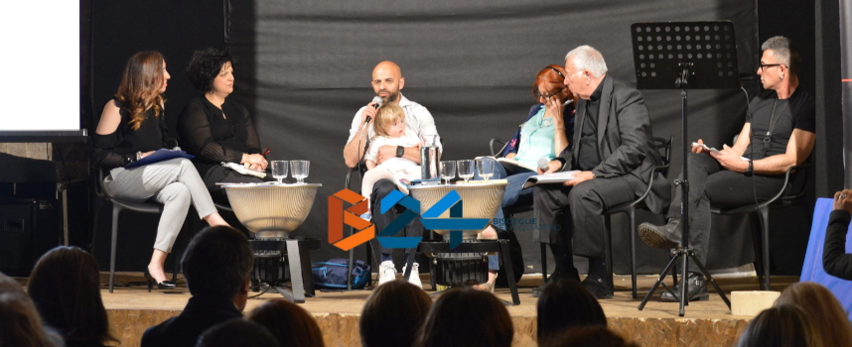 L'ora blu e Sinergie, Luca Trapanese e Alba, nati per parlare d'amore e trasmetterlo / FOTO