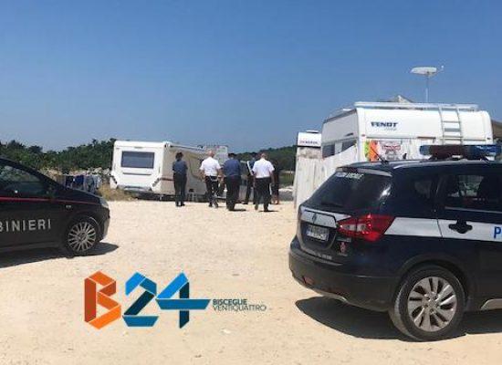 Campo nomadi Cala Pantano, ordine di sgombero per 5 roulotte / VIDEO