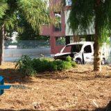 Tre auto e un furgone in fiamme questa notte in via Fragata