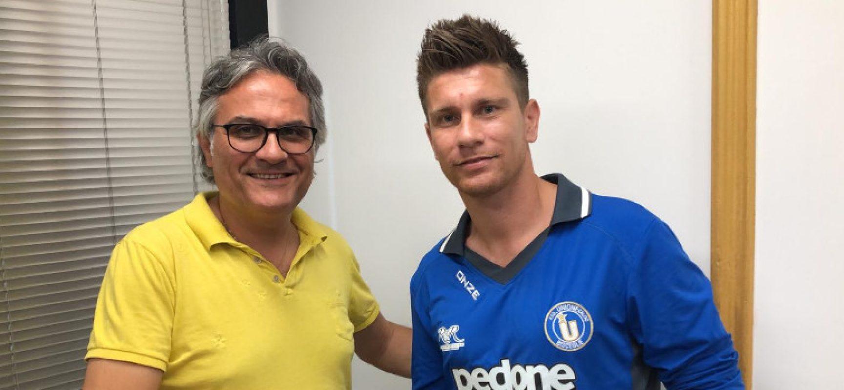 L'Unione Calcio rinforza il centrocampo con Cordisco