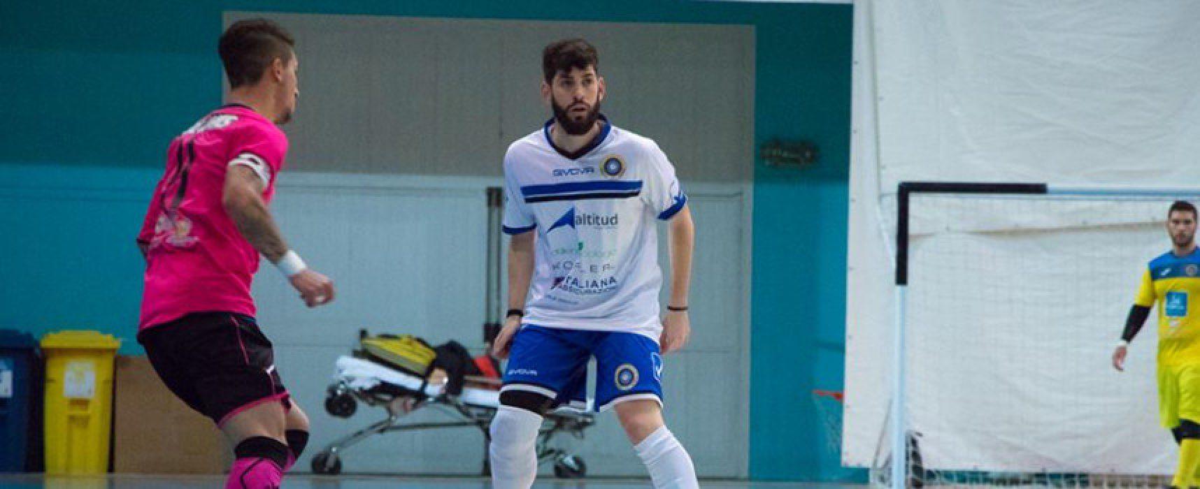 Il Futsal Bisceglie conferma  Ubaldo Iessi, Losito in prestito al Real Cefalù