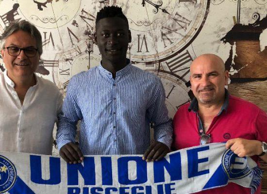 Mario Musa firma per l'Unione Calcio