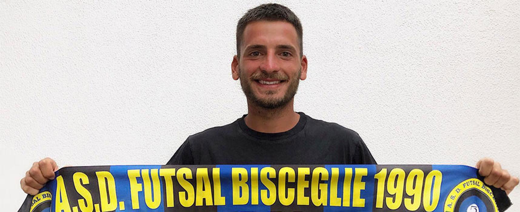 Il Futsal Bisceglie pesca ancora dal Salinis, preso Carlo Angiulli