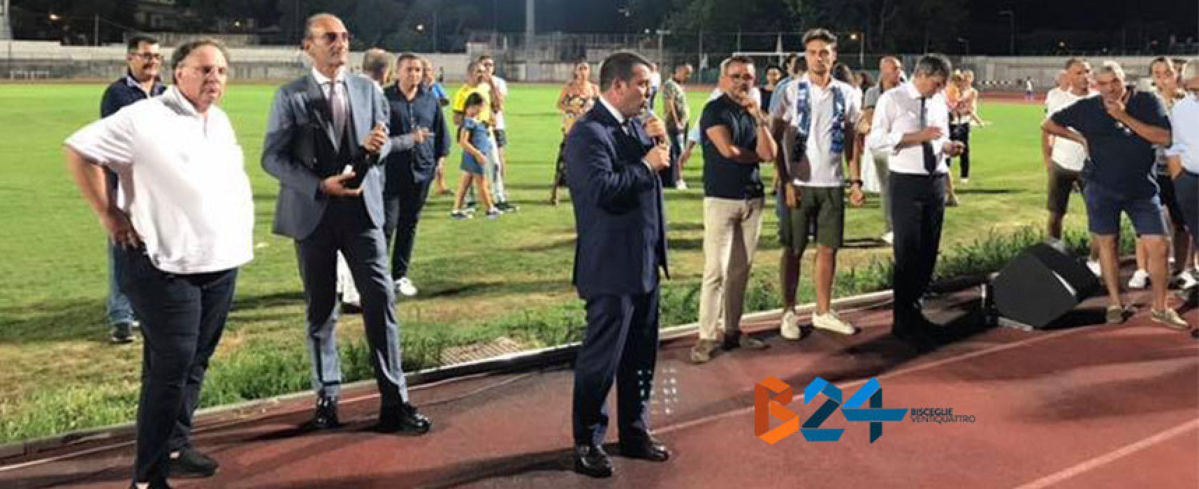 """Bisceglie Calcio in C, Canonico: """"Dobbiamo difendere a denti stretti questa categoria"""""""
