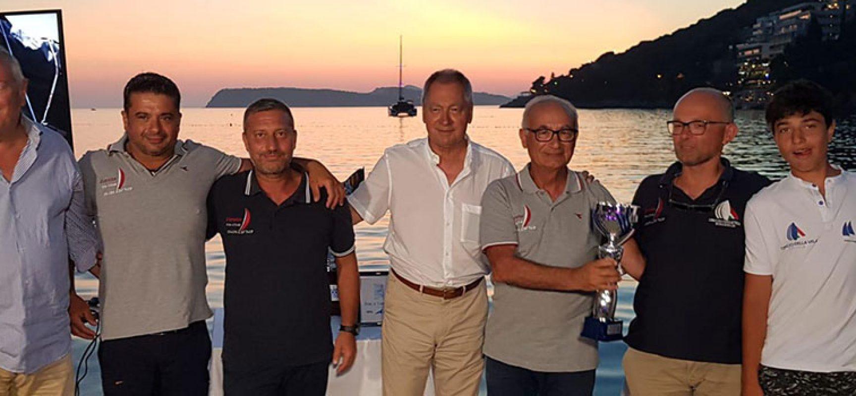 """Secondo posto per l'imbarcazione biscegliese """"Zorana"""" alla Trani-Dubrovnik"""