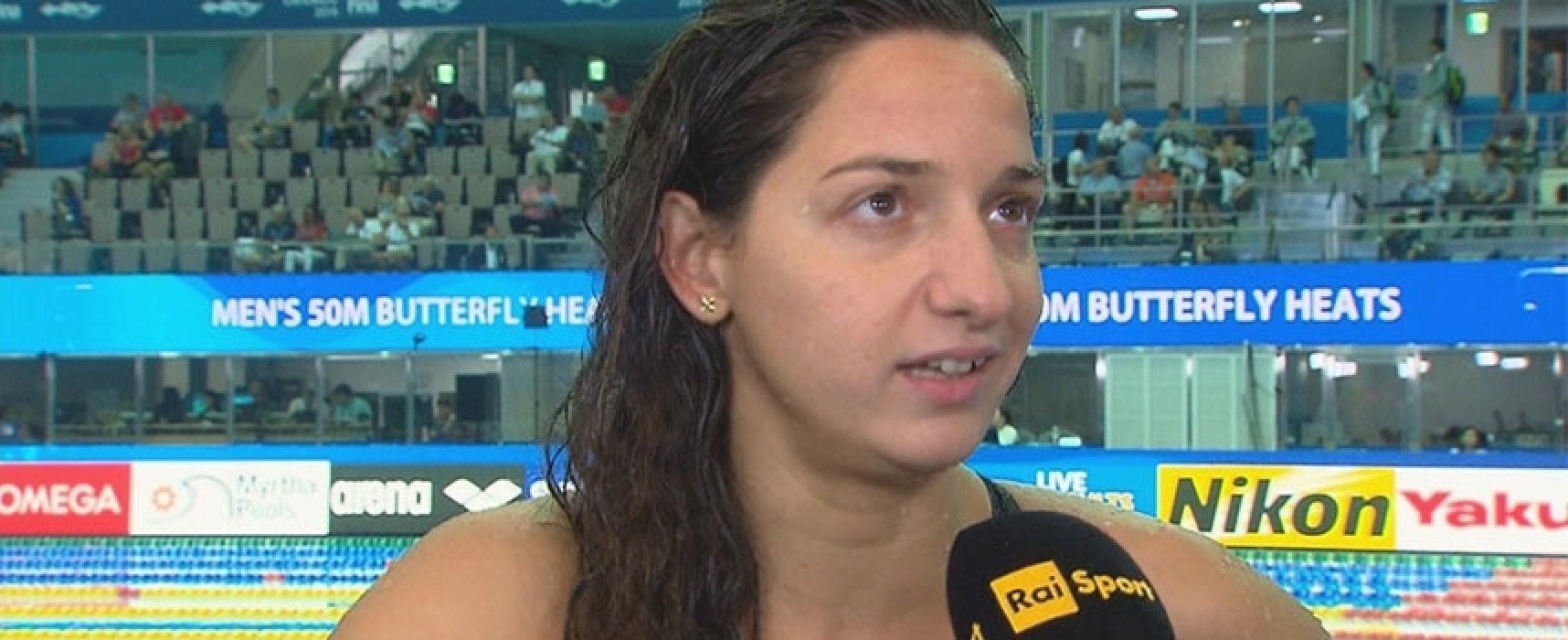 Elena Di Liddo chiude il Mondiale con il record italiano e quarto posto in finale 4×100