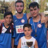 L'Euratletica Bisceglie brilla ai campionati regionali Cadetti