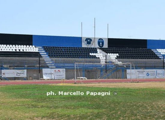 "Lavori al ""Ventura"" Bisceglie-Sicula Leonzio si disputerà a Monopoli"