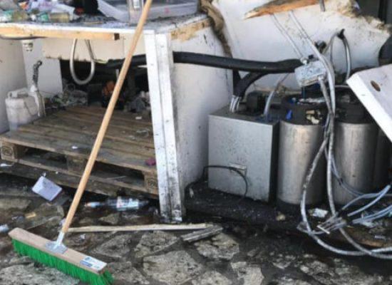 Esploso ordigno in un locale notturno /FOTO