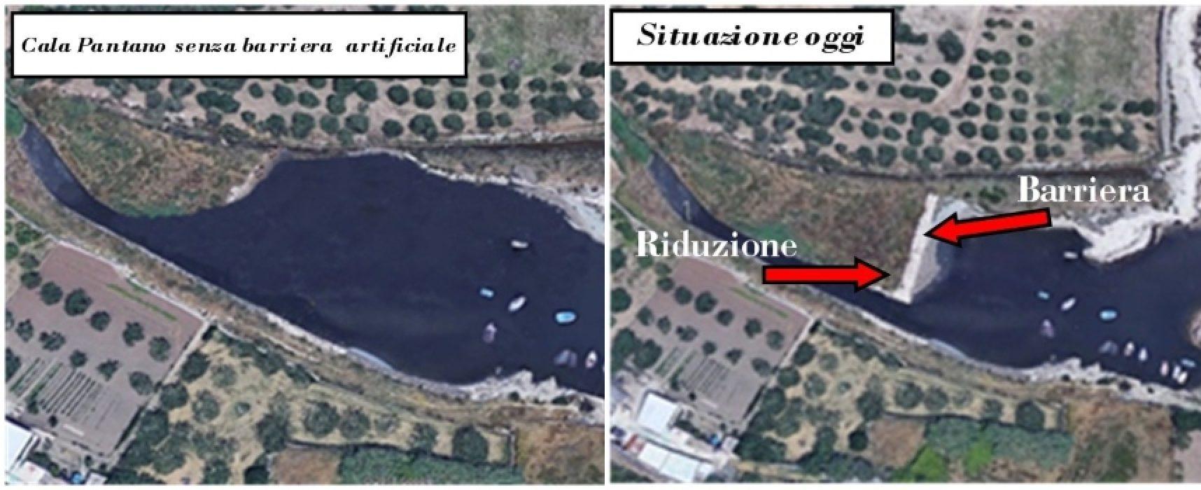 "Pro Natura: ""Cala del Pantano ecosistema a rischio"""
