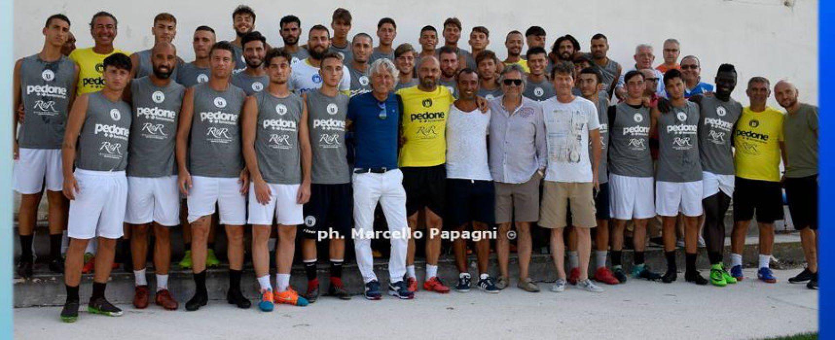 Unione Calcio, debutto in Coppa Italia contro la Vigor Trani