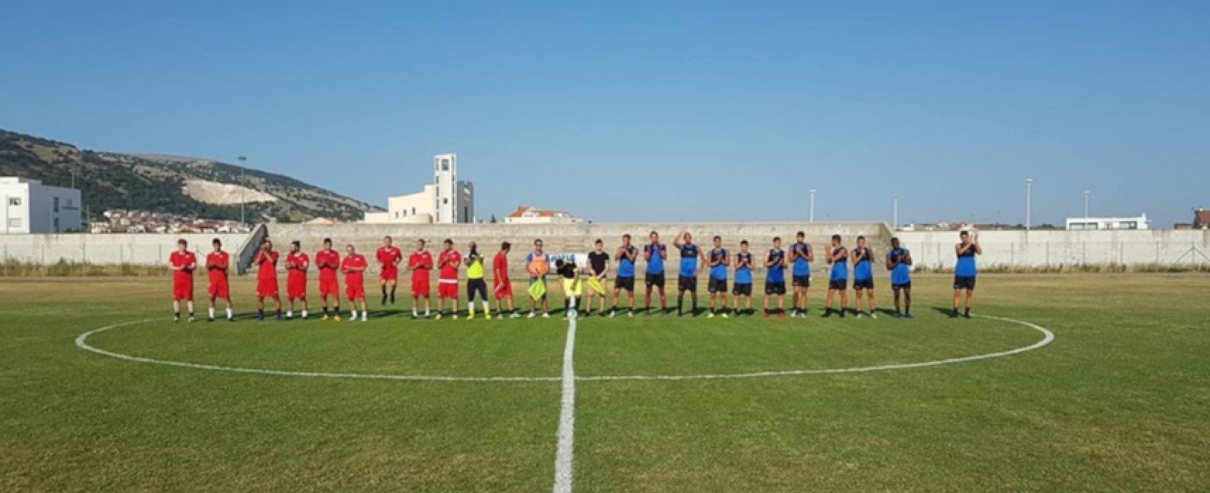 Bisceglie Calcio: sette gol nella prima vittoriosa amichevole