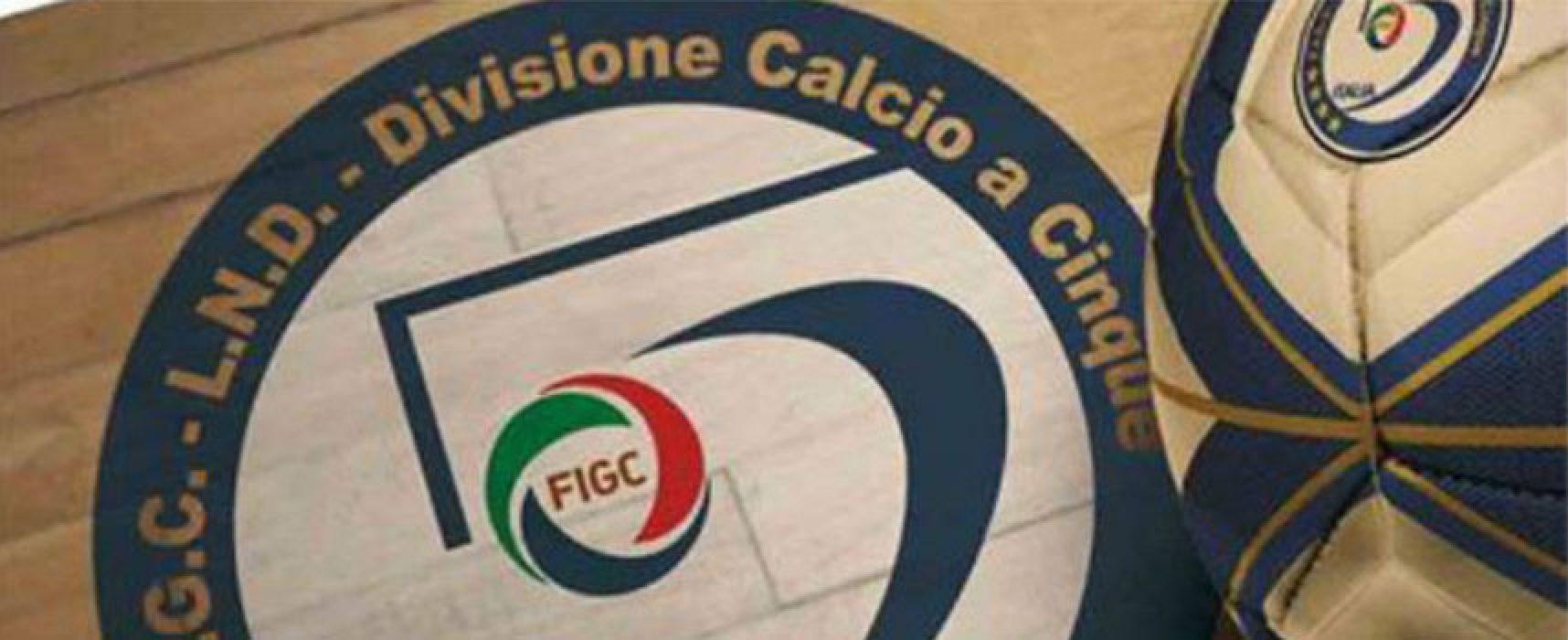 Campionato: stilati i calendari di Bisceglie Femminile, Futsal Bisceglie e Diaz