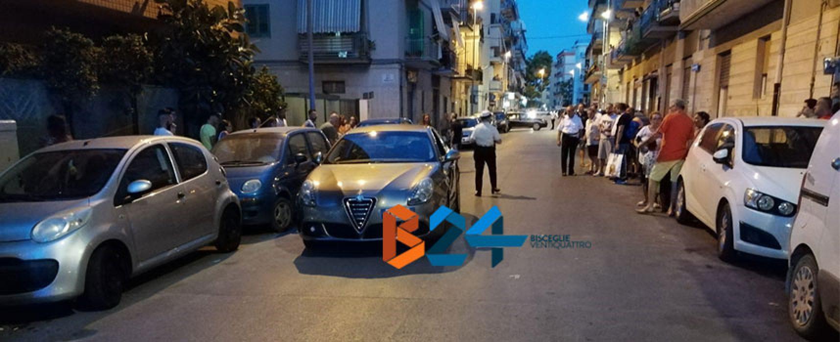 Donna investita in via Benedetto Croce, trasportata al Pronto Soccorso
