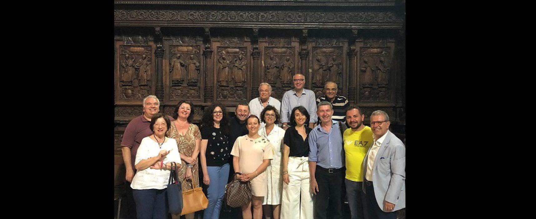 Rotary, avviato il restauro del coro ligneo della Cattedrale