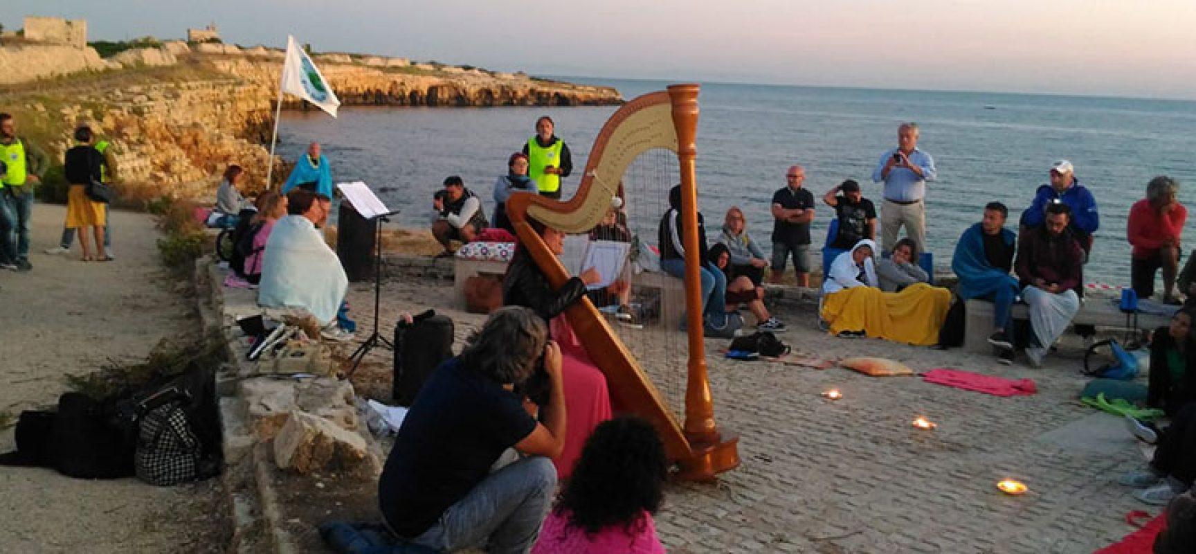 """Musica e natura all'alba, il mix vincente di """"Ripalta Sunrise"""" / FOTO"""