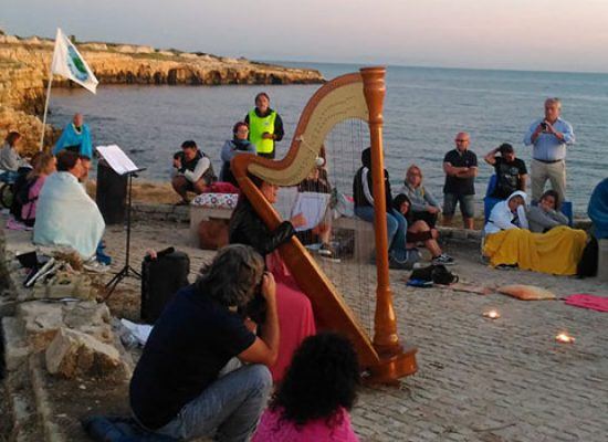 "Musica e natura all'alba, il mix vincente di ""Ripalta Sunrise"" / FOTO"