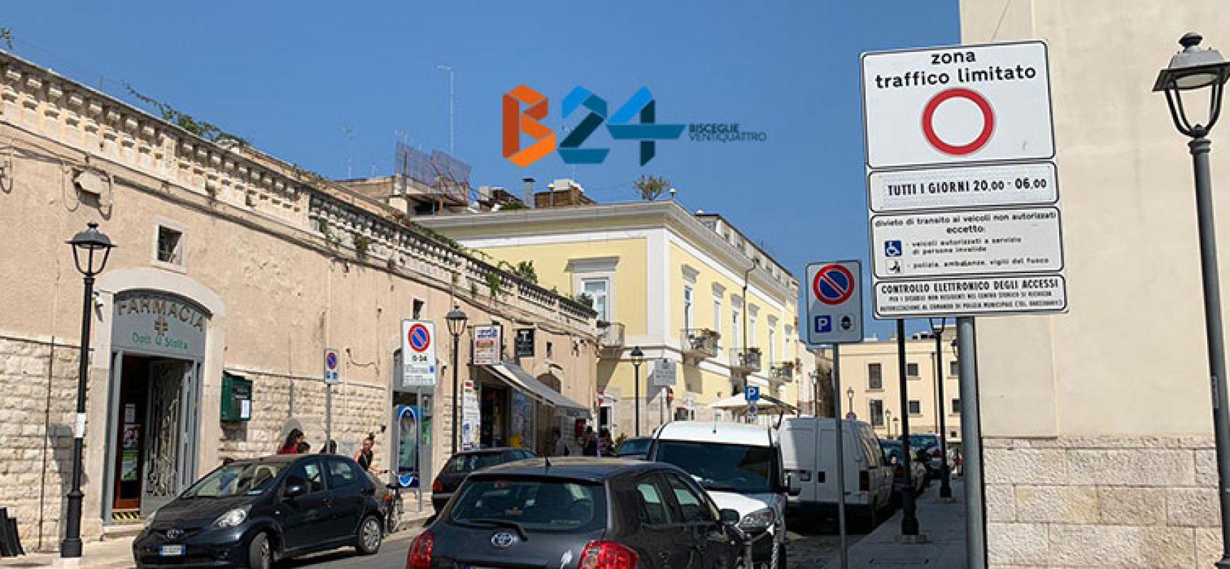 """Amendolagine (M5s): """"Sparita la segnaletica indicante la Ztl in Largo Castello"""""""