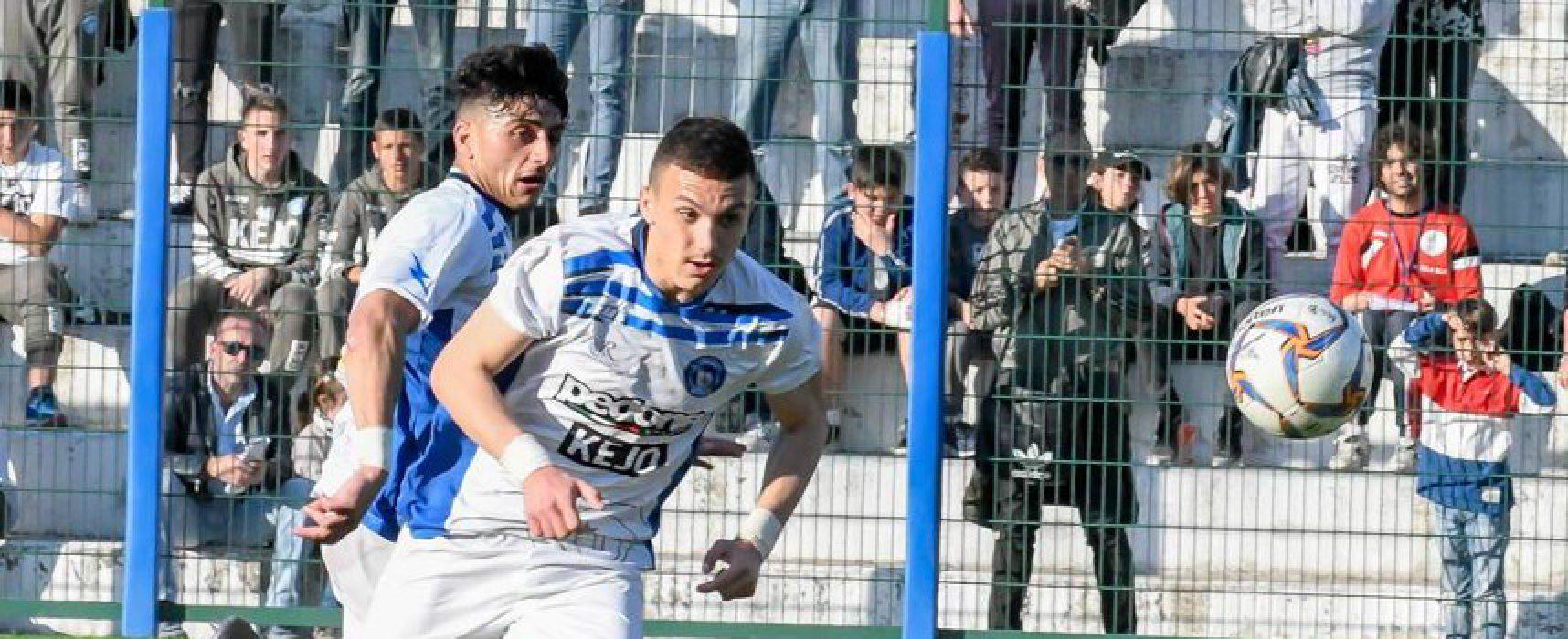 Unione Calcio, vittoria di misura contro la Vigor Trani