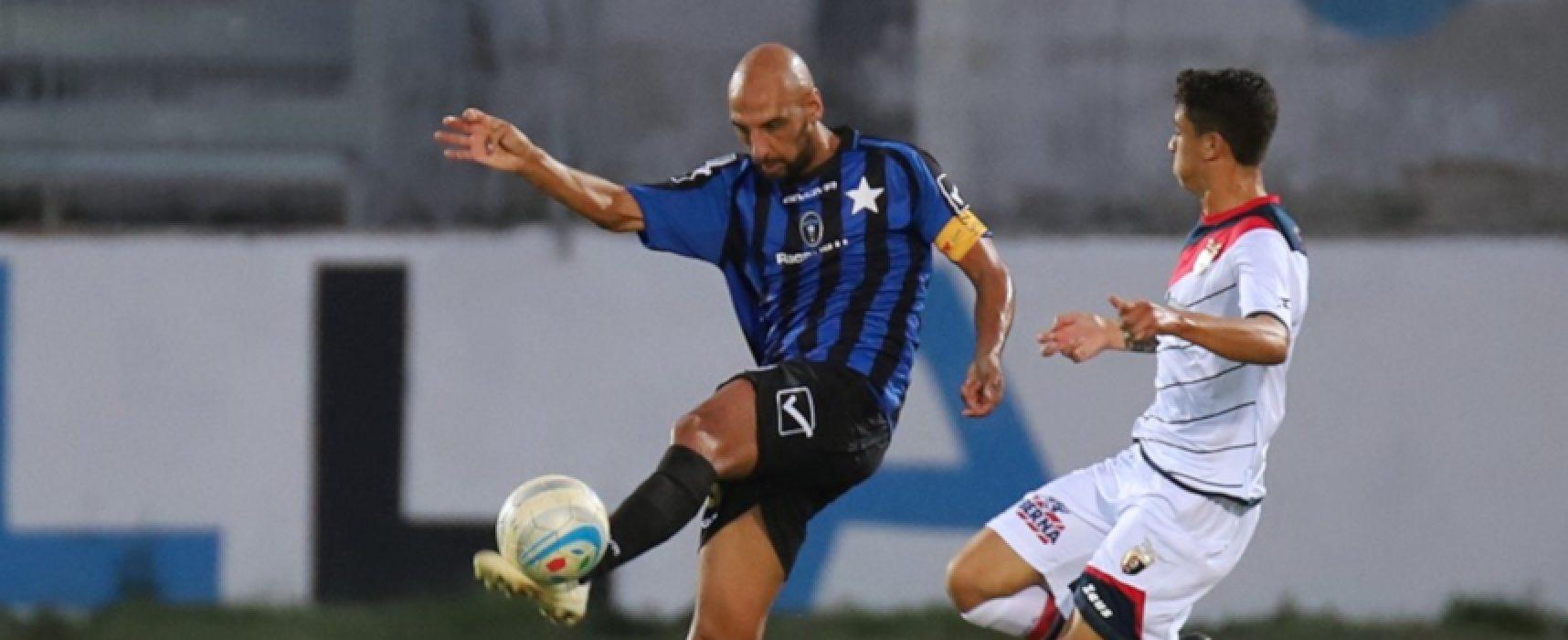 Il Bisceglie Calcio chiude il tour de force sul campo della Sicula Leonzio