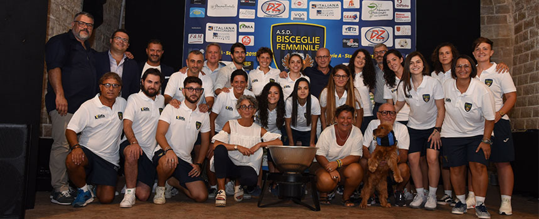 Il Bisceglie Femminile si è presentato alla città in vista del secondo anno in Serie A