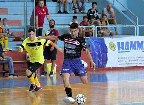 Diaz buona la prima, battuto il Futsal Canosa in Coppa della Divisione