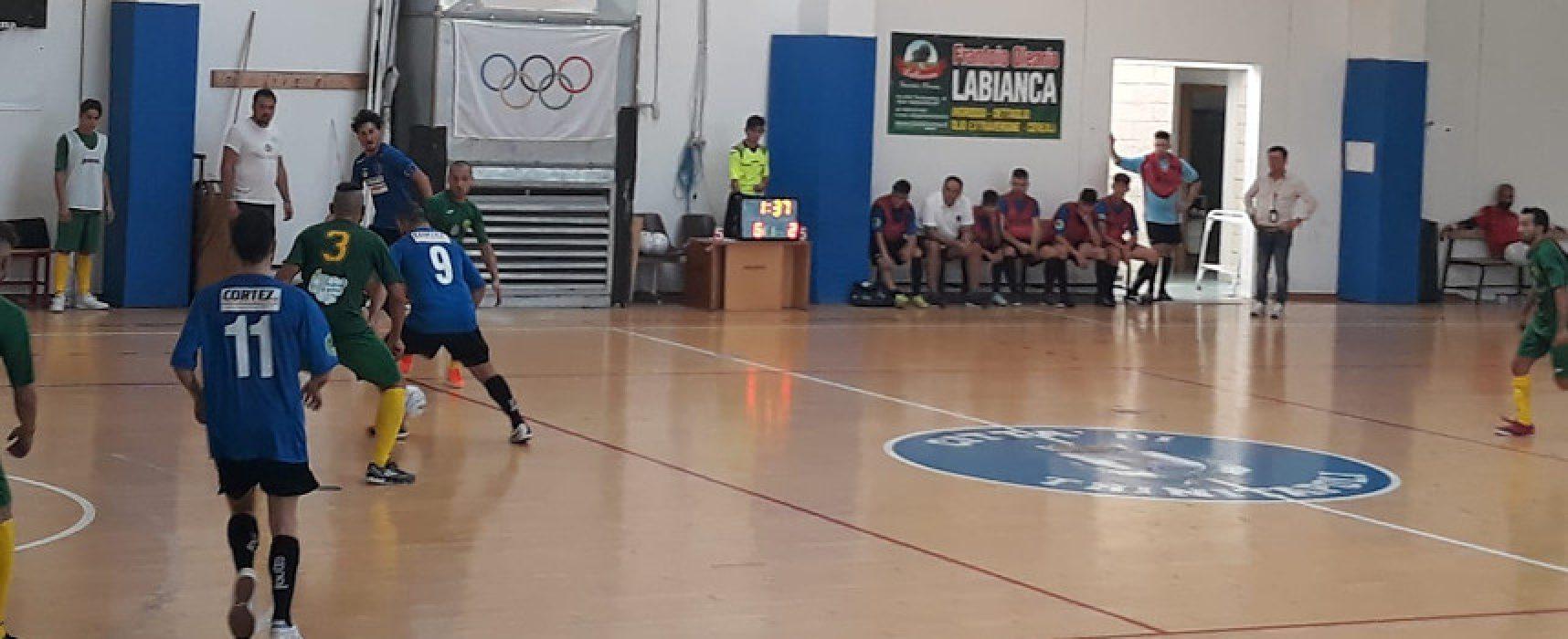 Futbol Cinco per interrompere il digiuno di punti contro l'Audace Monopoli