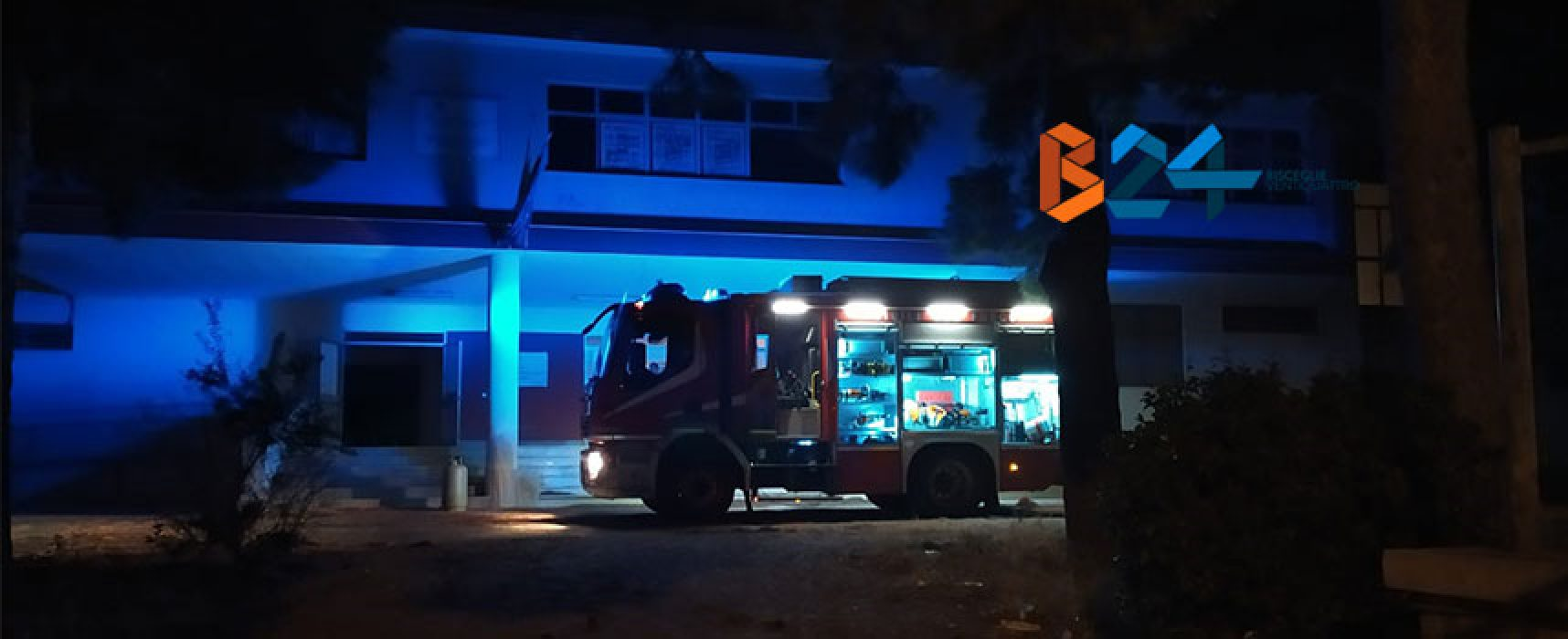 "Incendio all'Istituto Superiore ""Sergio Cosmai"""