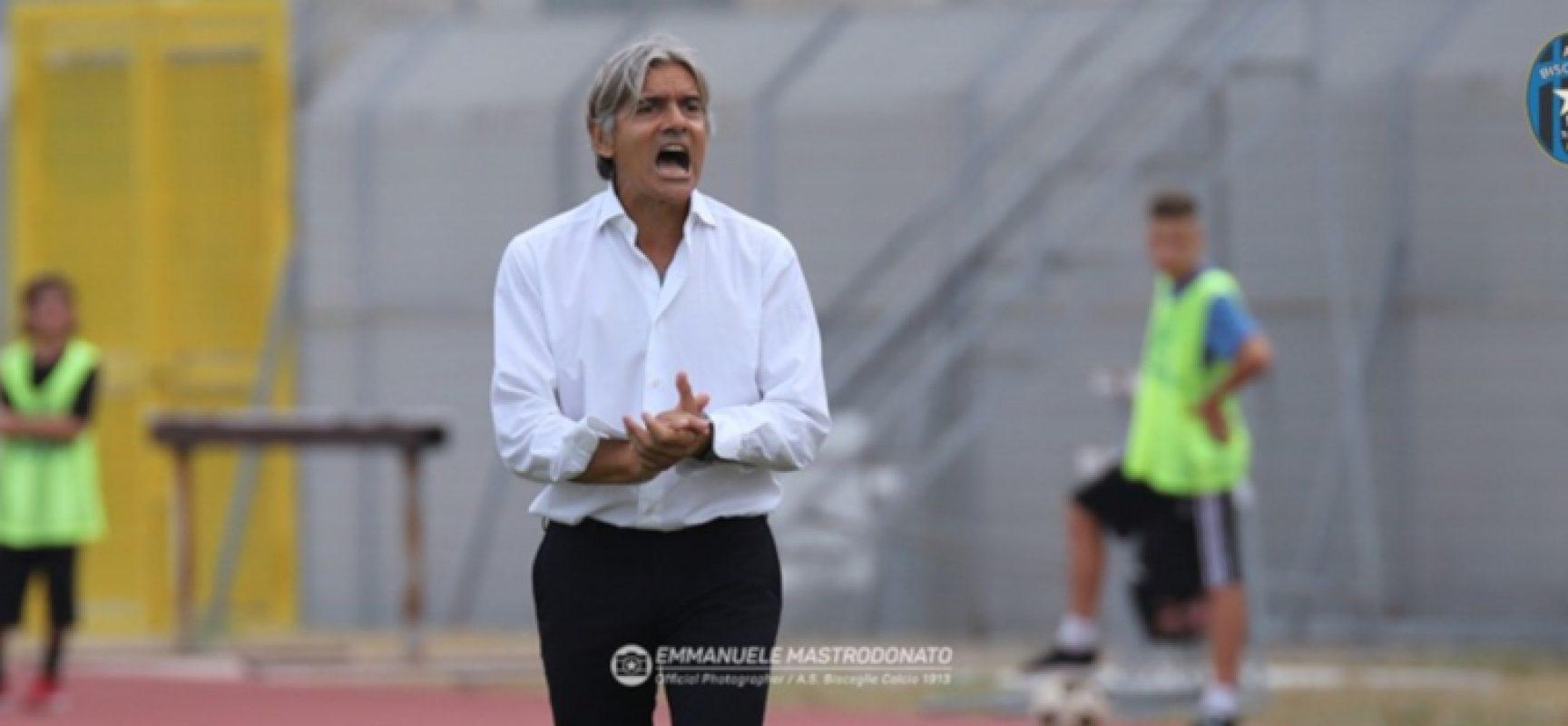 Il Bisceglie Calcio esonera Rudy Vanoli