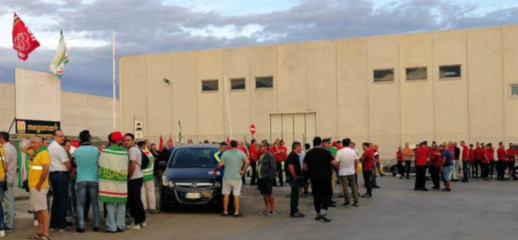 Area logistica Gruppo Megamark minaccia licenziamenti, lavoratori biscegliesi a rischio