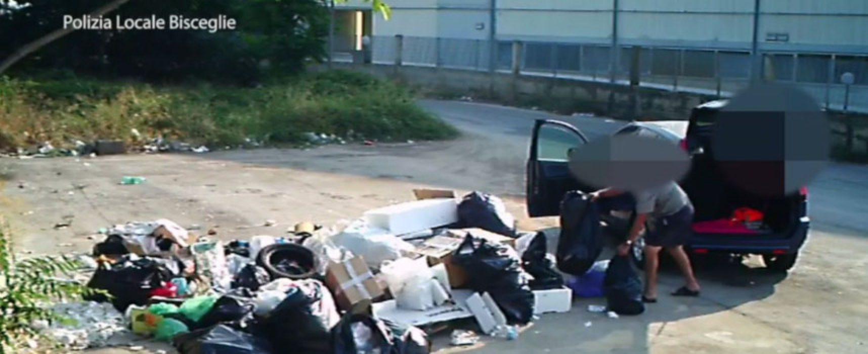 Abbandono rifiuti, scovati venti incivili grazie alle foto-trappole / VIDEO
