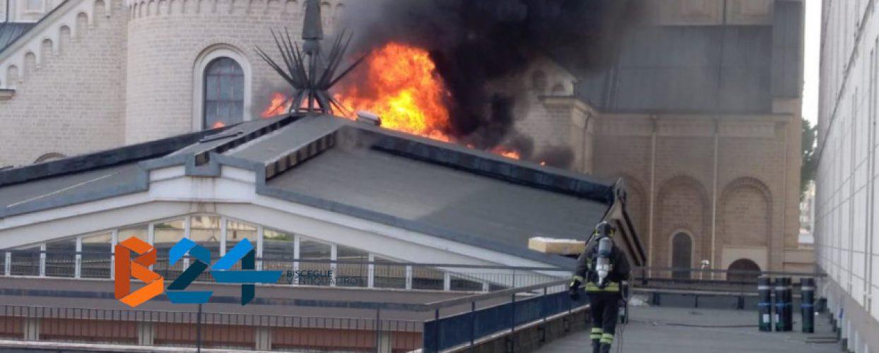 Incendio alla Casa Divina Provvidenza /VIDEO