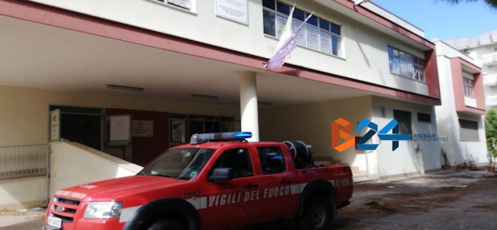"""Incendio all'Istituto Superiore """"Sergio Cosmai"""", il secondo in due settimane"""