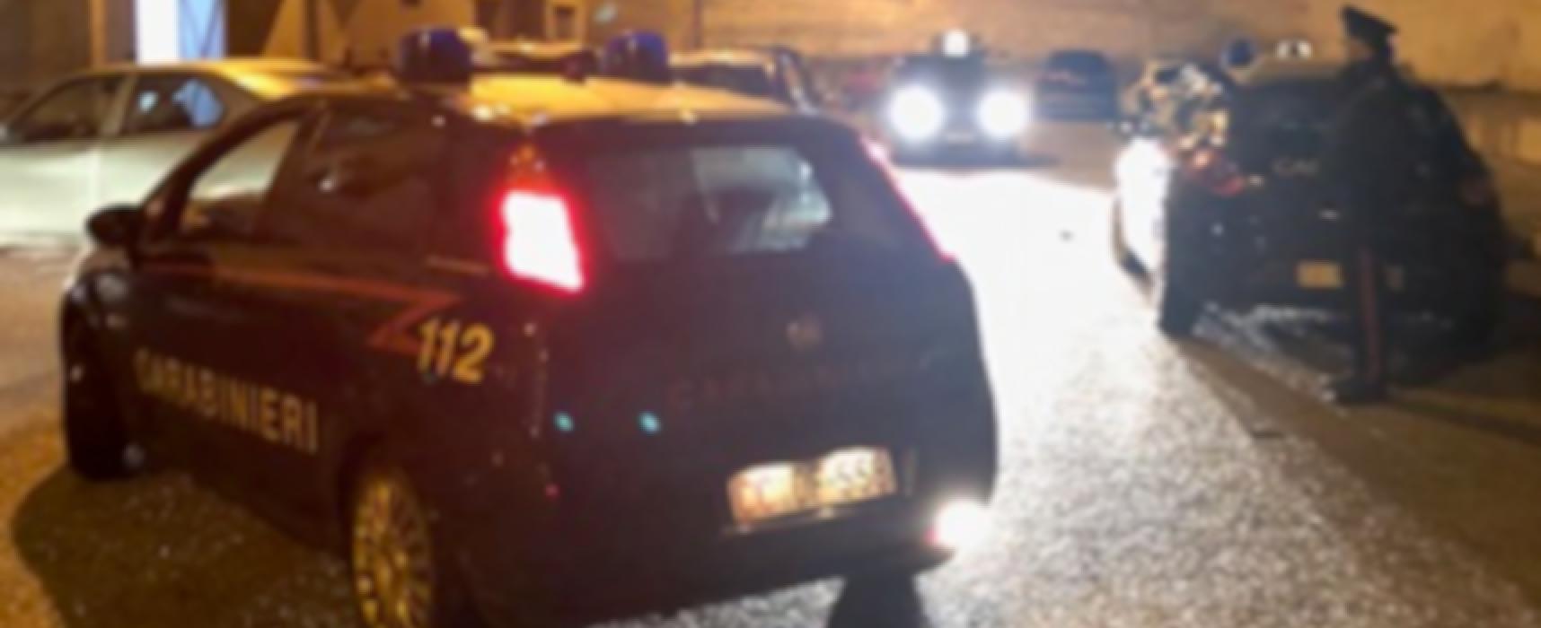 Due biscegliesi arrestati dai Carabinieri di Bitonto